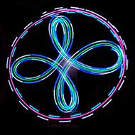 LED - Poi + LED Frisbee