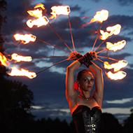 Fire - Fans / Feuerfächer